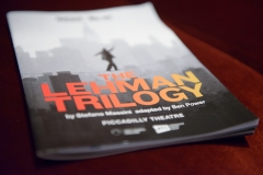 The Lehman Trilogy, The Piccadilly Theatre